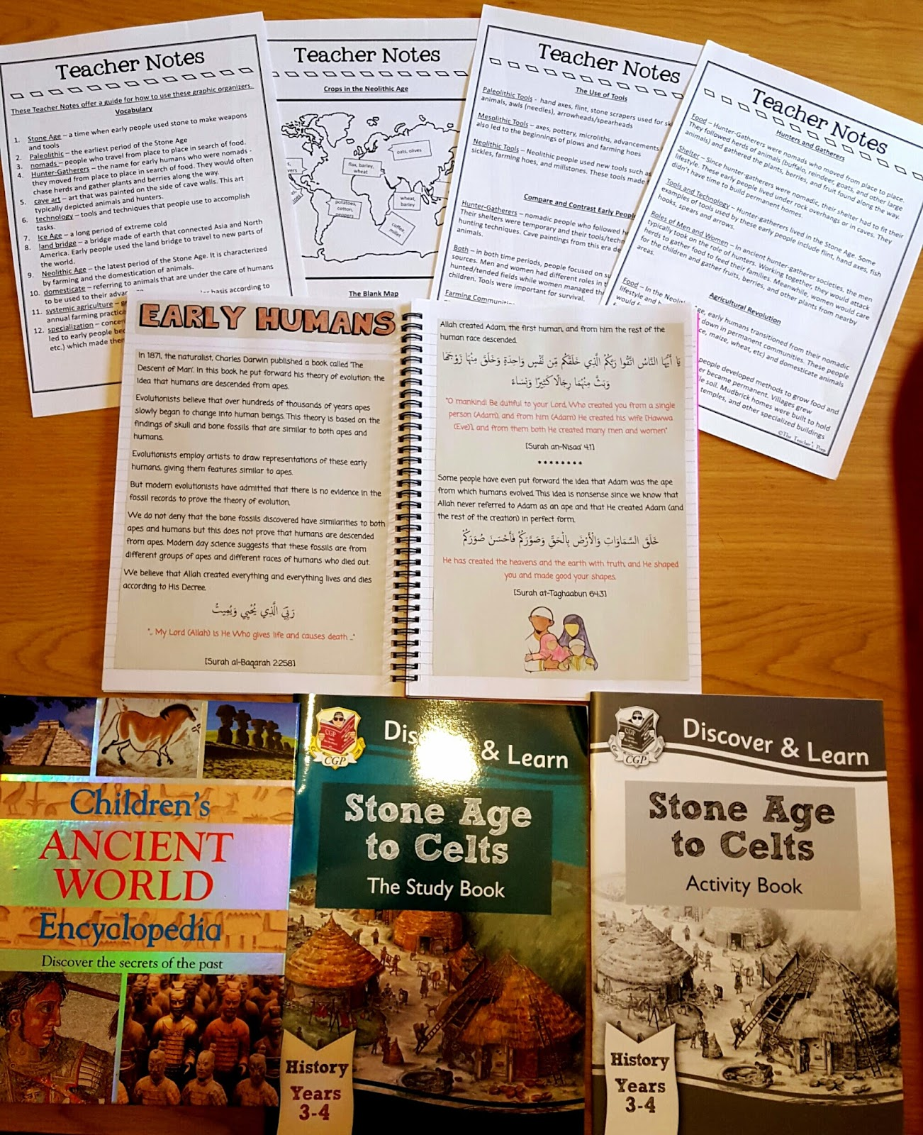 Iman S Home School Early Humans An Islamic Perspective
