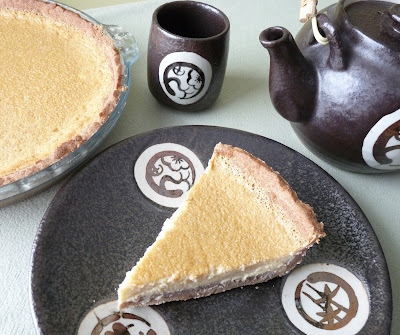 Baked Custard Pie