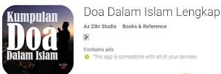 Aplikasi Android Doa Dalam Islam Lengkap