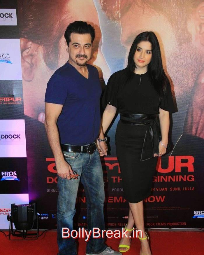 Sanjay Kapoor, Maheep Sandhu, Hot Pics of Sonakshi Sinha, Shraddha Kapoor At 'Badlapur' Success Bash