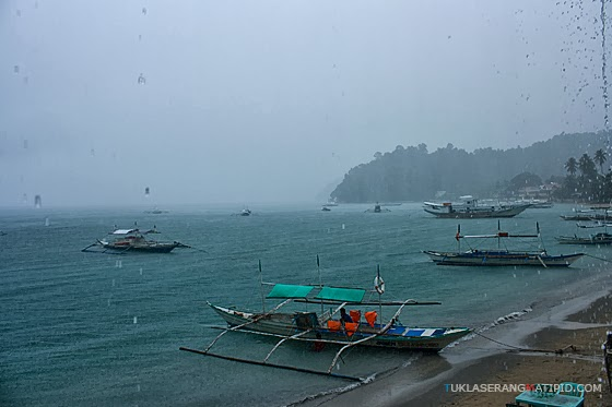 El Nido Palawan rainy storm