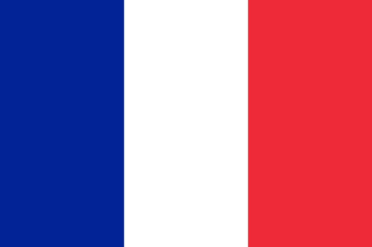 Bandera De Francia Dibujo