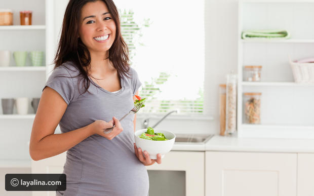 ماذا يعني اشتهاء أطعمة معينة أثناء الحمل؟