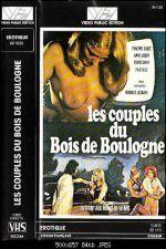 Les couples du Bois de Boulogne 1974
