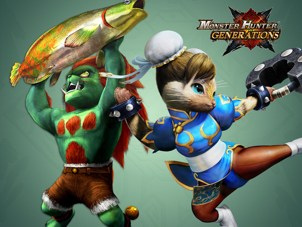 Ya disponible el nuevo DLC gratuito de Monster Hunter Generations