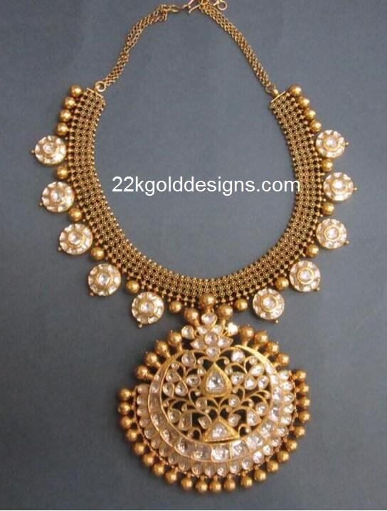 Bottu Design Necklace