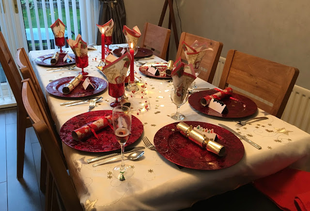 Christmas Day 2016 Table Setting