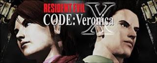 Logo Jogo code verônica X ps2 resident evil 2001 Torrent ISO