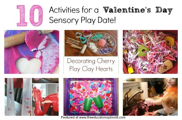 Valentin's Day Sensory Activities