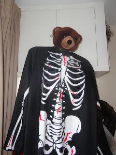 Tom in a Halloween Costume