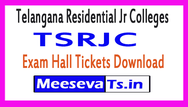 TSRJC Exam Hall Tickets Download 2018