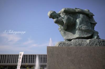 広島原爆資料館前