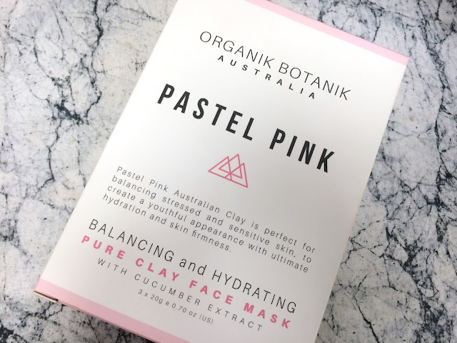 Organik Botanik Australia Pastel Pink Pure Clay Face Mask