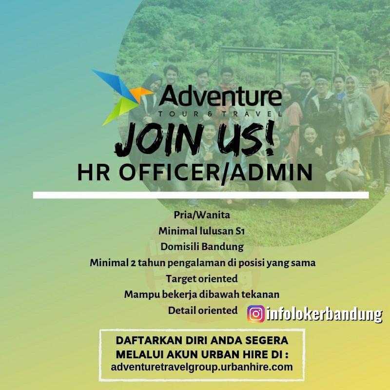 Lowongan Kerja Adventure Group Tour & Travel Bandung Mei 2019