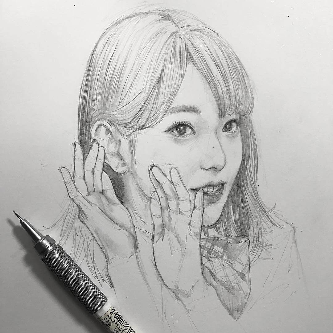 15-Chibana-Pen-and-Pencil-Portrait-Sketches-www-designstack-co