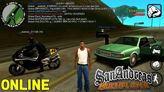 GTA San Andreas Online SAMP - Atualizado ANDROID - Download!