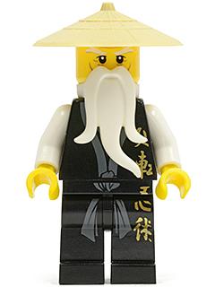 LEGO 88584 Black HIPS with Bright Light Orange LEGS for Hazmat Guy Minifigure