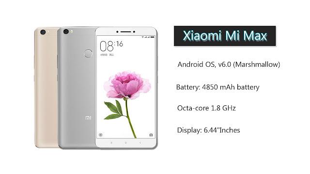 Xiaomi Redmi Mi Max 32GB  Mobile Specifications,Price Mobiletopstore