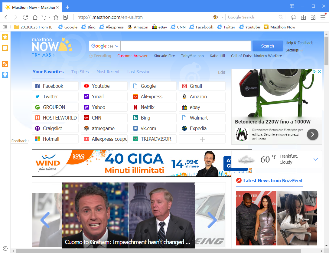 Maxthon Web Browser 5.3.8.2000