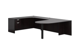 Offices To Go U Shaped Home Desk