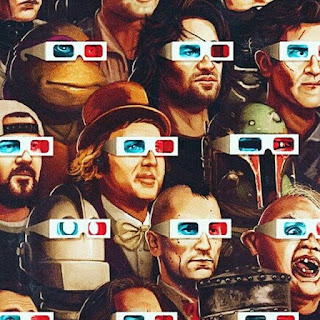 3D glasses sarcastic profile picture