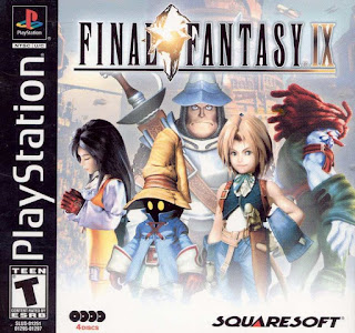 Portada del Final Fantasy IX para Play Station One, 2000