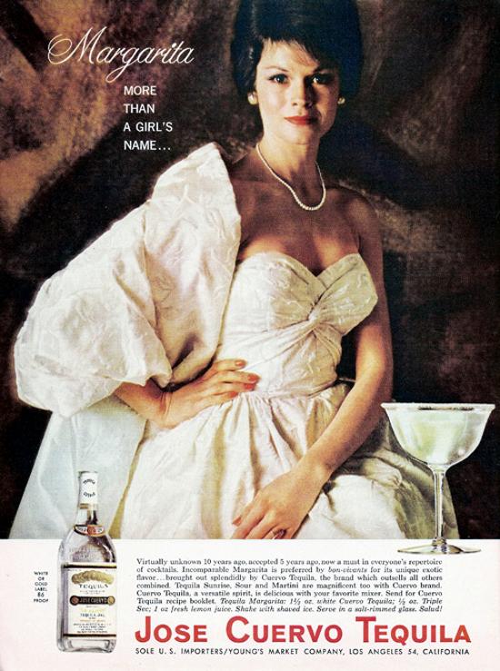 Jose Cuervo Tequila ad 1963