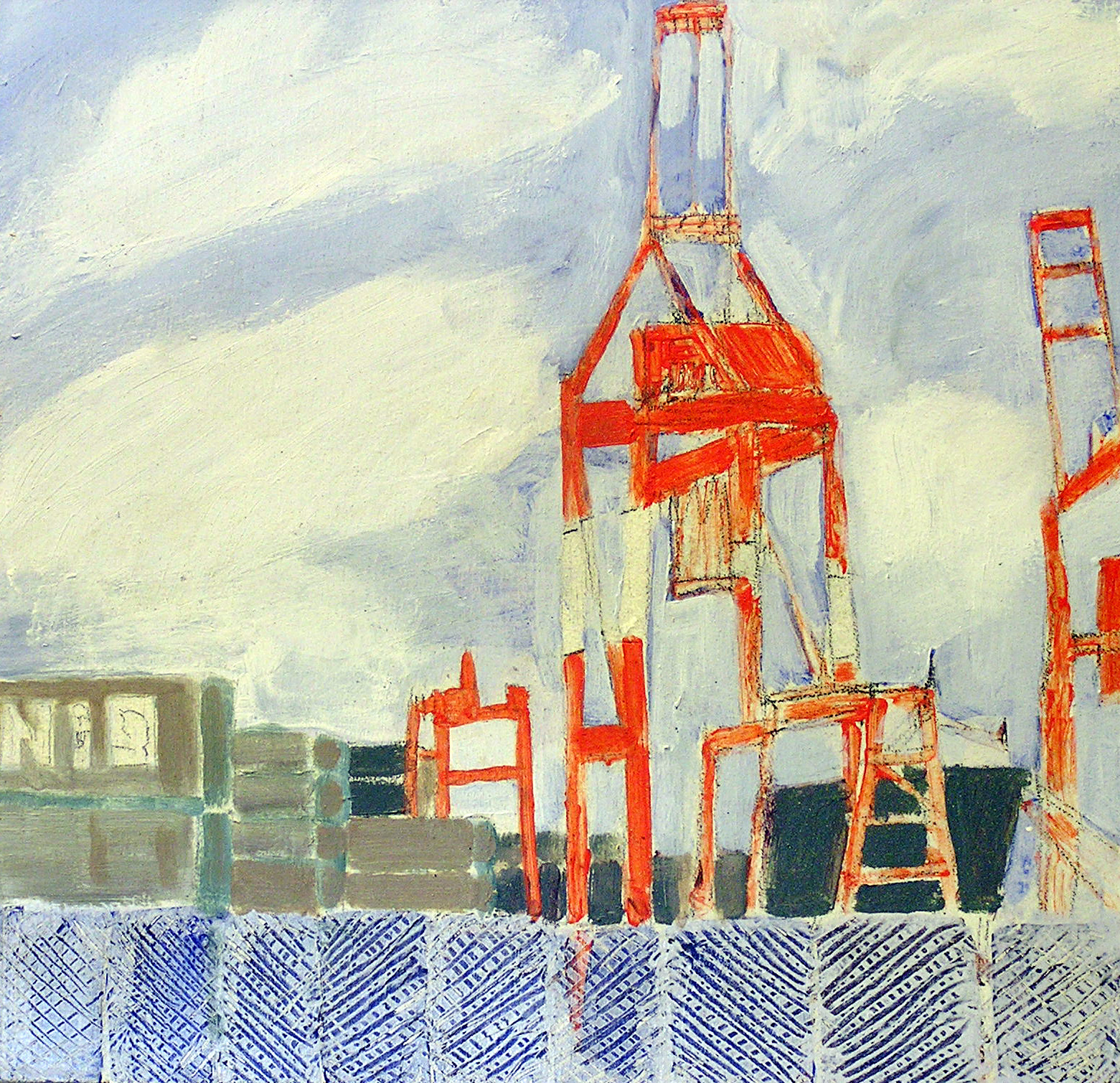 Halifax Harbour, Cranes