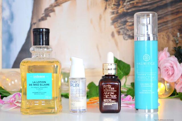 soins - cosmétique - hiver - soin en hiver - routine du soir - eau micellaire - sérum anti age - crème anti âge - contour des yeux - bio - naturel - cosmétique naturel