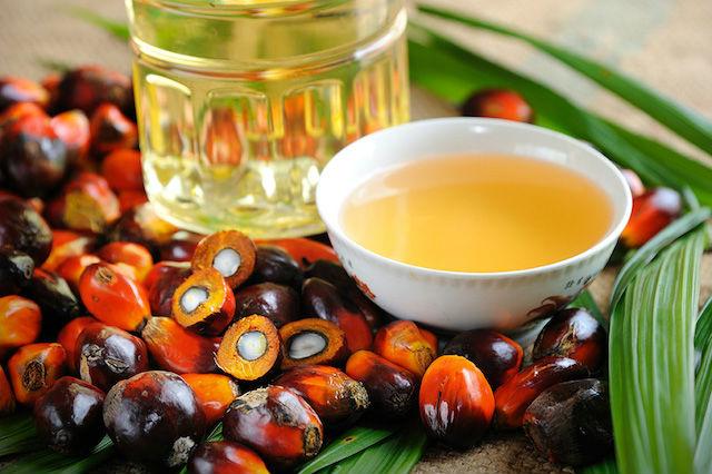 aceite de palma en la compra