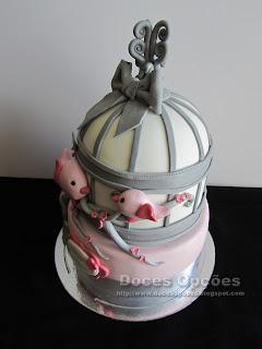 cage birthday cake