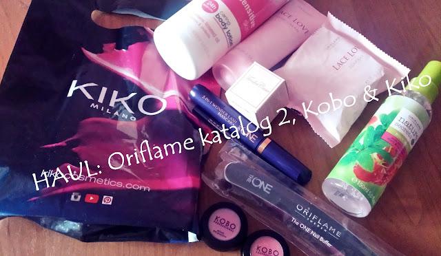 OPENBOX zamówienie ORIFLAME z  Katalogu 2/2016