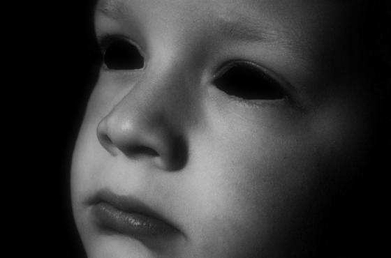 Black Eyed Kid...or Malevolent Spirit?