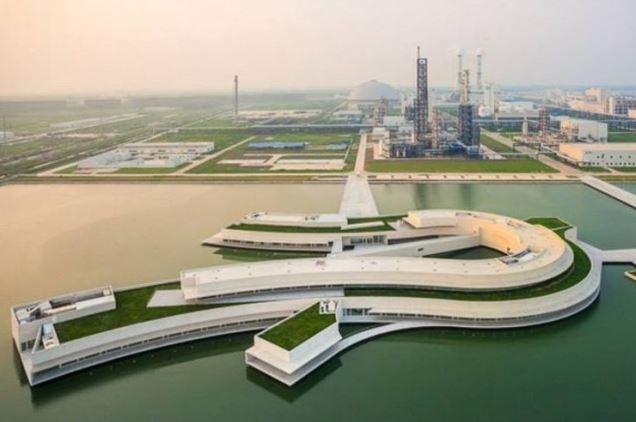 Resultado de imagem para parque industrial na china