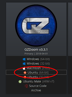 The GZDoom download page