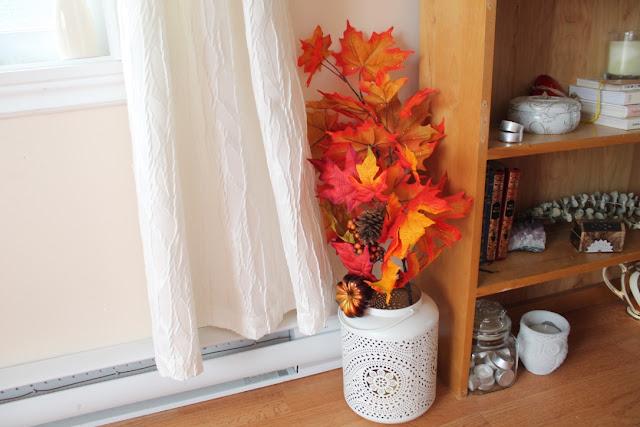 Décoration intérieure automne