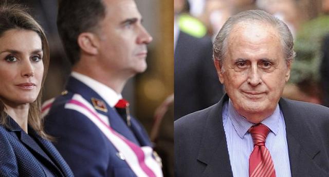 Peñafiel explota: la abdicación fue un complot de Felipe y Letizia por el poder
