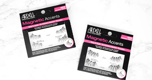 REVIEW: Ardell Magnetic Lashes (Accents 001 + Accents 002)