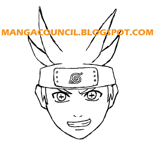 How To Draw Naruto Six Paths Sage Mode