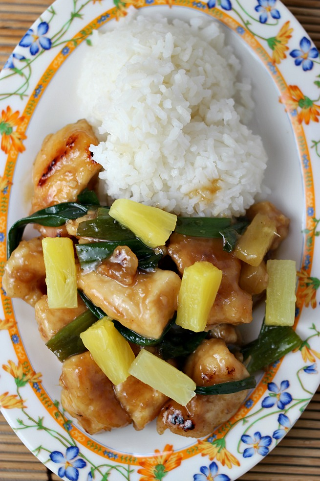 Better Than Takeout: Pineapple Mongolian Chicken