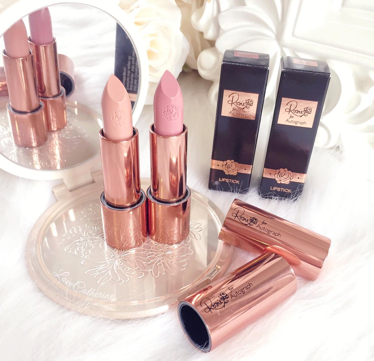 Rosie for Autograph | Lipsticks, Nude Mink & Camisole Blush