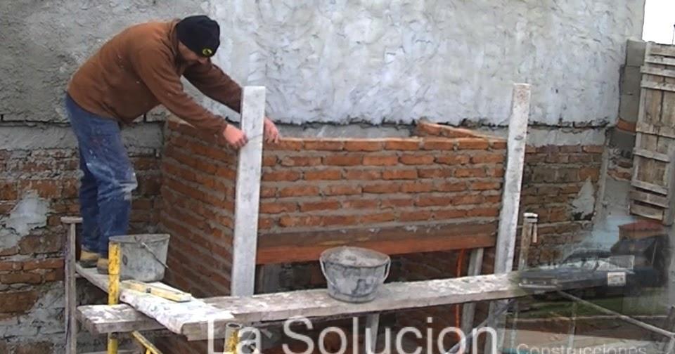 Estufas chimeneas y barbacoas Construir una pileta de ladrillos