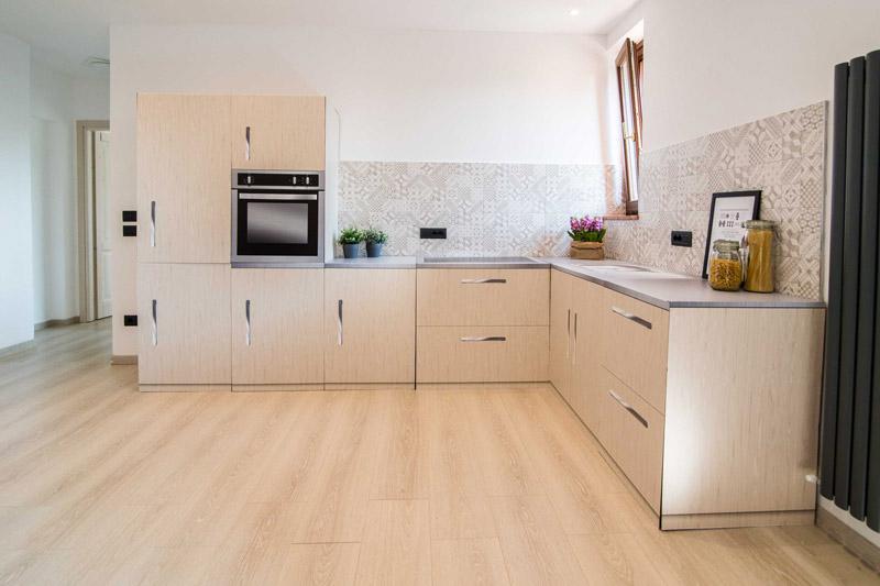 cucina in cartone di RE.DA