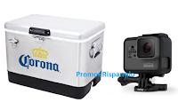 Logo Concorso ''Vinci con Corona'' : 120 Cooling Box Corona e 60 GoPro Nuova Hero