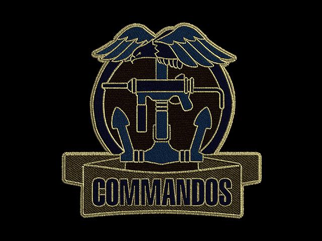 Commandos Behind Enemy Lines logo badge