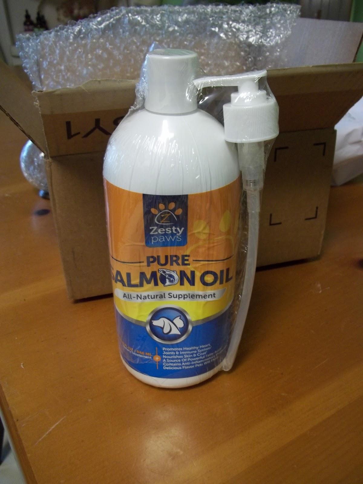 Dragonfly Treasure Pure Wild Alaskan Salmon Oil For Dogs