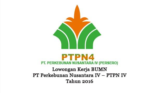 PT PERKEBUNAN NUSANTARA IV : FRESH GRADUATE DAN PROFESIONAL PROGRAM - INDONESIA