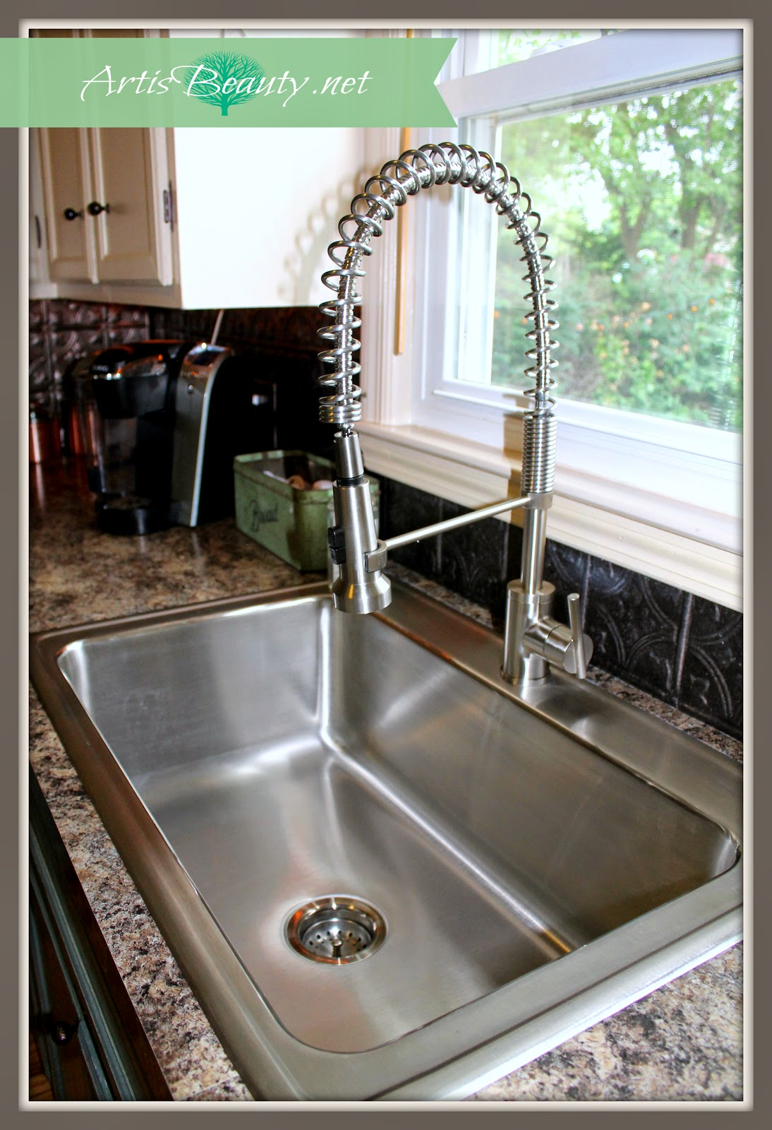 Art Is Beauty Elkay Kitchen Sink And Parma Faucet Remodel