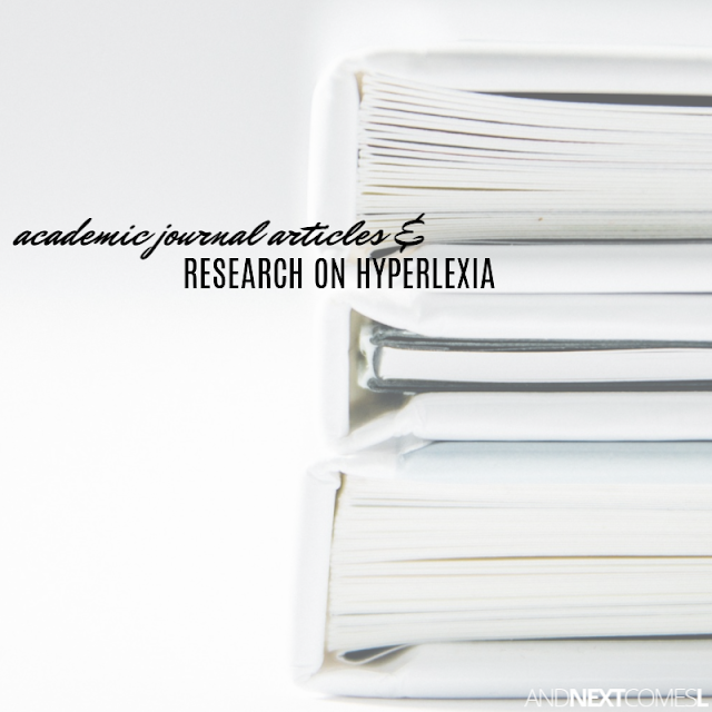 Hyperlexia research