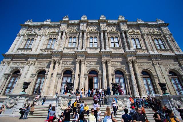 Esterno Palazzo Dolmabache-Istanbul